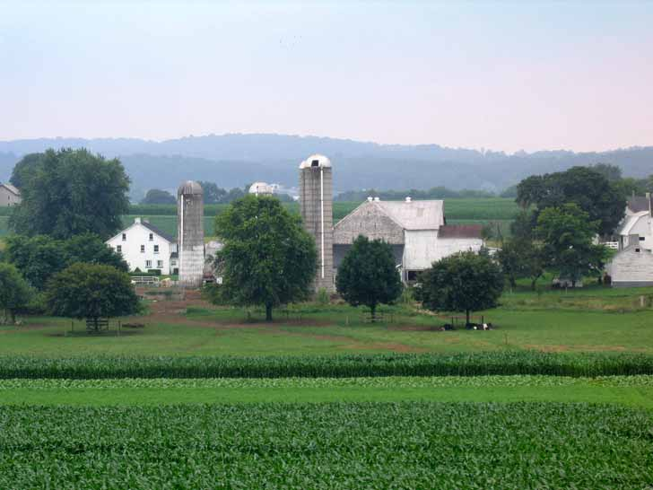 Farm in Pennsylvania Dutch Country