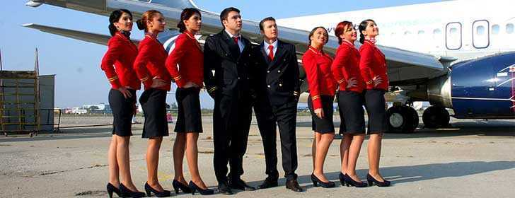 Fly Level's Cabin Crew Students