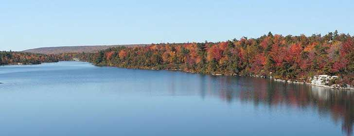 Lake Awosting At Minnewaska State Park