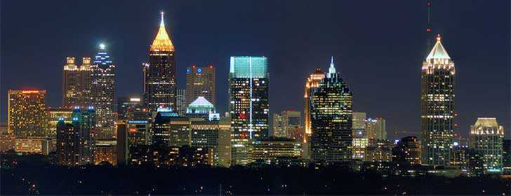 Atlanta Skyline from Buckhead